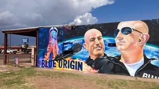 Ο Τζεφ Μπέζος ταξιδεύει την Τρίτη στο Διάστημα με το New Shepard