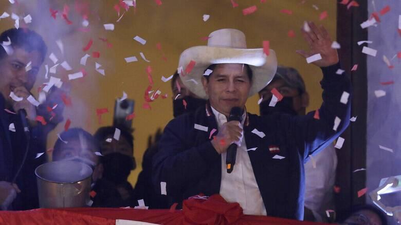 Τέλος στο εκλογικό θρίλερ του Περού: Ο Πέδρο Καστίγιο ανακηρύχθηκε νικητής