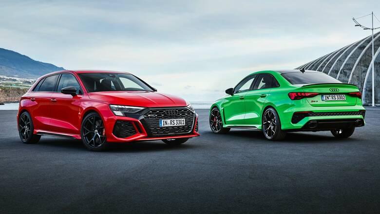 Το νέο Audi RS 3 είναι το πιο γρήγορο της κατηγορίας του