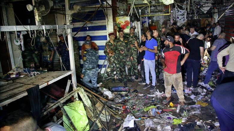 Αιματηρή επίθεση από το Ισλαμικό Κράτος σε κατάμεστη αγορά στη Βαγδάτη - Τουλάχιστον 35 νεκροί