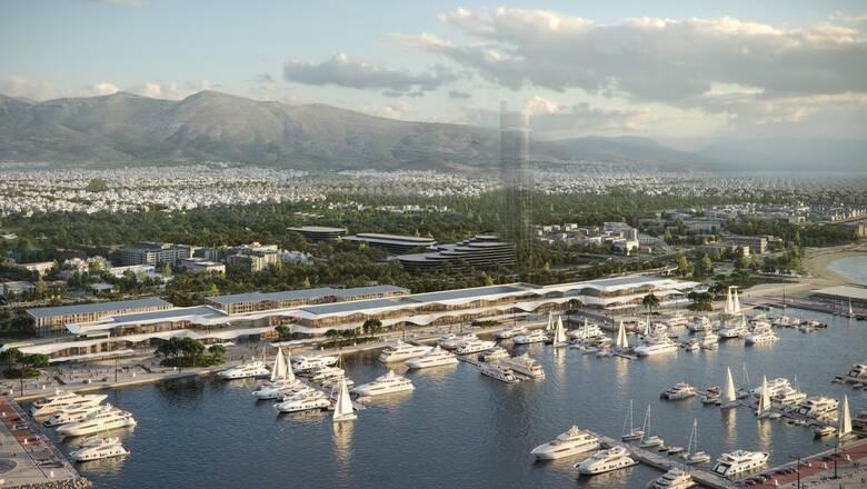 Marina Galleria: Η Lamda Development παρουσίασε τη μαρίνα και το παράκτιο μέτωπο του Ελληνικού