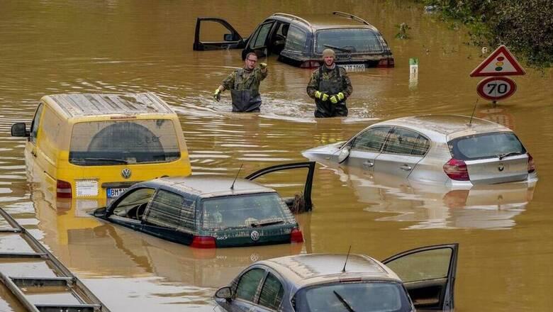 Πλημμύρες στη Γερμανία: Οι αρχές φοβούνται την έξαρση κρουσμάτων στις  πληγείσες περιοχές