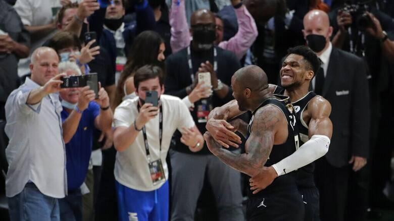 «Θέλουμε να το ξανακάνουμε»: MVP o Γιάννης Αντετοκούνμπο - Τα «κατορθώματά» του στον τελικό