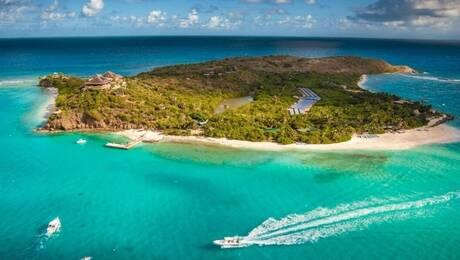 «Necker Island»: O παράδεισος του Ρίτσαρντ Μπράνσον δέχεται ξανά επισκέπτες