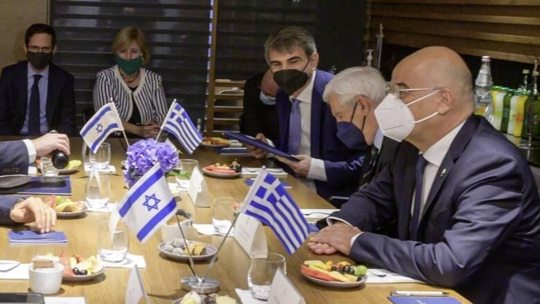 Οι παράνομες τουρκικές ενέργειες στις συνομιλίες Δένδια με τον Ισραηλινό ΥΠΕΞ
