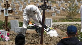 Ρωσία- Κορωνοϊός: Οι αρχές ανακοινώνουν 23.704 νέα κρούσματα και 783 θανάτους