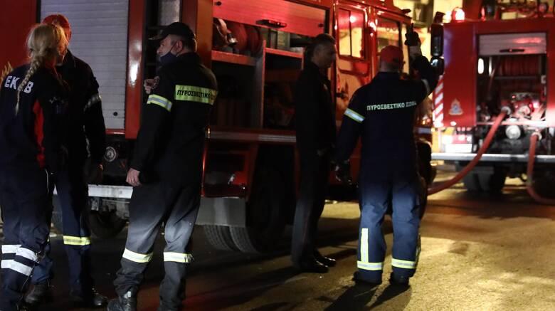 Θεσσαλονίκη: Οριοθετήθηκε η πυρκαγιά κοντά στο θεατράκι της Νέας Ευκαρπίας
