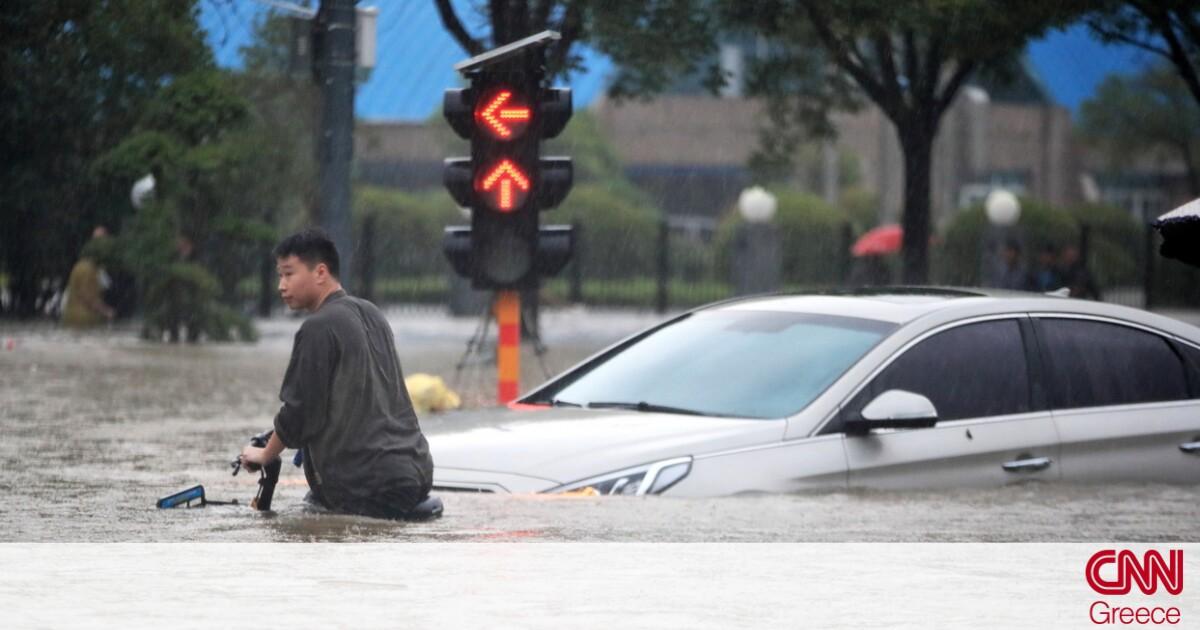 Στους 33 οι νεκροί από τις πλημμύρες στην «πόλη του iPhone» στην Κίνα – Συγκλονίζουν οι μαρτυρίες