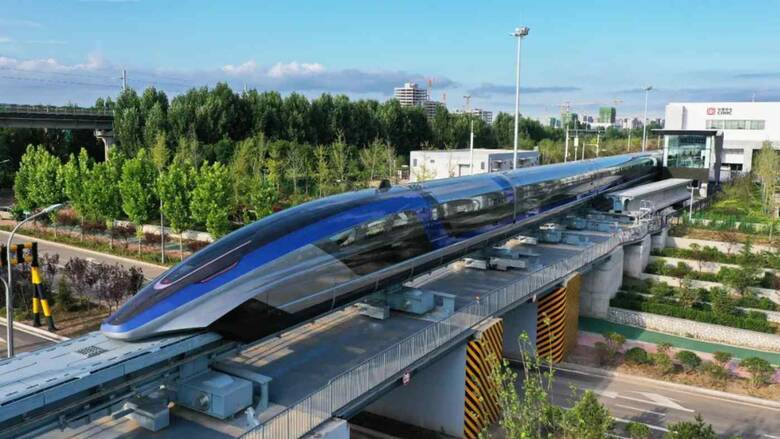 Η Κίνα παρουσίασε το γρηγορότερο τρένο του κόσμου που «αιωρείται»