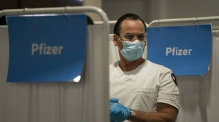 Ισραήλ: Στο 39% η αποτελεσματικότητα του εμβολίου των Pfizer/BioNTech ως προς την αποτροπή μόλυνσης