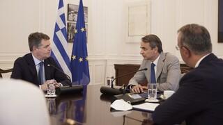 Μητσοτάκης σε πρόεδρο Eurogroup: Η Ελλάδα δεν σταματά τις μεταρρυθμίσεις παρά την πανδημία