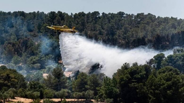 Πολιτική Προστασία: Υψηλός κίνδυνος πυρκαγιάς σε πέντε περιφέρειες το Σάββατο