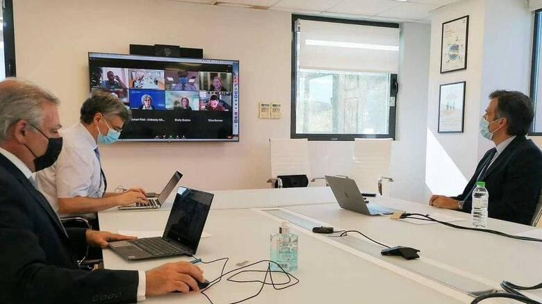 Τηλεδιάσκεψη του ΕΟΔΥ με ειδικούς επιστήμονες του αμερικανικού CDC