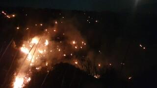 Φωτιά στο Καλέντζι Κορινθίας: Μία σύλληψη για εμπρησμό από αμέλεια