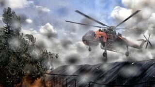 Σε εξέλιξη η φωτιά στο Καλέντζι Κορινθίας - Συνελήφθη άνδρας για εμπρησμό από αμέλεια