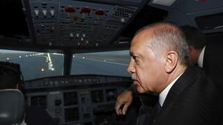 Τουρκία: Αναγκαστική προσγείωση για ελικόπτερο που μετέφερε τον Ερντογάν