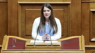 Ανεξαρτητοποιήθηκε από το ΜέΡΑ25 η βουλευτής Κωνσταντίνα Αδάμου