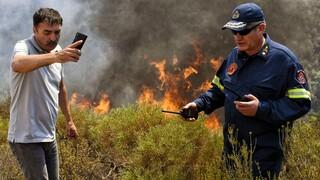 Πολύ υψηλός ο κίνδυνος πυρκαγιάς σε έξι περιφέρειες αύριο Κυριακή