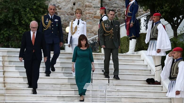 Μήνυμα Σακελλαροπούλου στην Τουρκία: Η Ελλάδα δεν θα δεχθεί τετελεσμένα για την Κύπρο