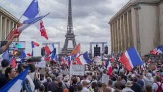 Κορωνοϊός - Γαλλία: Διαδηλώσεις κατά του εμβολιασμού, επεισόδια και προσαγωγές στο Παρίσι
