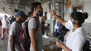 Ινδία: 535 θάνατοι εξαιτίας της COVID-19 και  40.000 νέα κρούσματα