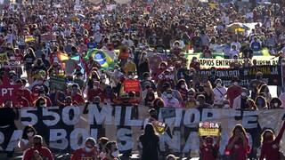 Βραζιλία: Νέα μαζική διαδήλωση με αίτημα την αποπομπή Μπολσονάρου