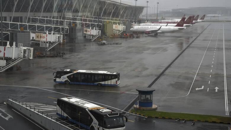 Κίνα: Σφοδρές βροχοπτώσεις λόγω του τυφώνα Ιν-φα