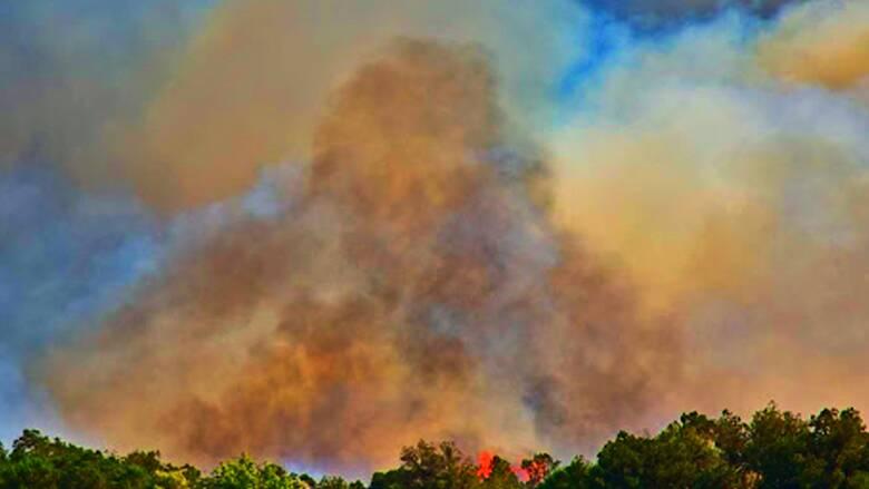 Φωτιά στο Ναύπλιο - Συναγερμός στην Πυροσβεστική
