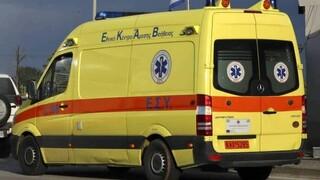 Tροχαίο στα Καμένα Βούρλα: Τραυματίστηκε οδηγός μηχανής