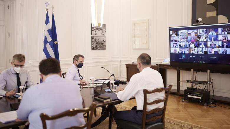 Υπουργικό Συμβούλιο τη Δευτέρα υπό τον Μητσοτάκη: «Ψηλά» στην ατζέντα ο κατώτατος μισθός