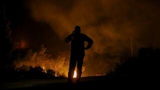 Φωτιά Επίδαυρος: Δύσκολη νύχτα για τους πυροσβέστες στην  Αργολίδα - Εκκενώθηκε η Γκάτζια