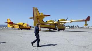 Δύο Canadair από την Ελλάδα στην Ιταλία για τις καταστροφικές πυρκαγιές στη Σαρδηνία