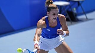 Ολυμπιακοί Αγώνες: Δυνατή εμφάνιση από την Σάκκαρη - Νίκησε τη Στογιάνοβιτς και πέρασε στις «16»