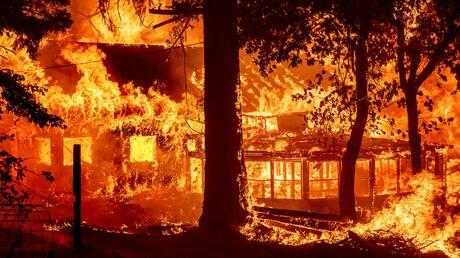 ΗΠΑ - Καλιφόρνια: Η μεγάλη πυρκαγιά «Ντίξι» προκαλεί αλλαγή στο κλίμα