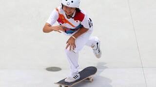Ολυμπιακοί Aγώνες Τόκιο: Μόλις 13 ετών η χρυσή Ολυμπιονίκης στο σκέιτμπορντ