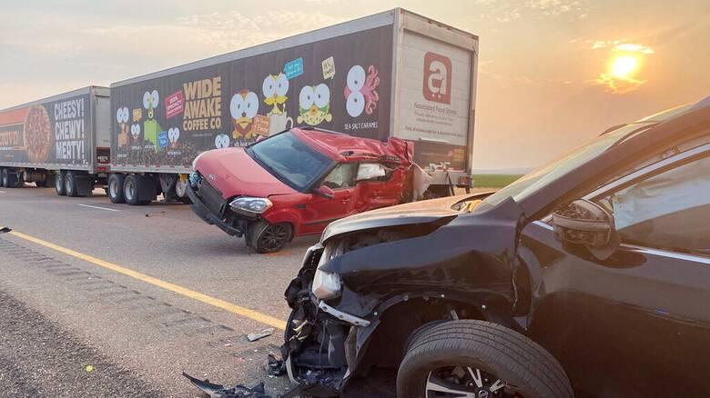 ΗΠΑ: Οκτώ νεκροί σε καραμπόλα 22 οχημάτων λόγω αμμοθύελλας στη Γιούτα