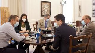 Συγχαρητήρια Μητσοτάκη στη νέα ηγεσία της Ιατρικής Σχολής του Πανεπιστημίου Αθηνών