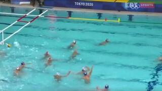 Ολυμπιακοί Αγώνες: Ισόπαλη 6-6 με την Ιταλία η Εθνική ομάδα Πόλο ανδρών