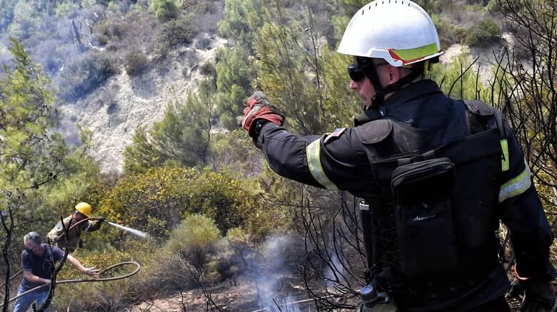 Φωτιά στον Βύρωνα Αττικής - Επί ποδός η πυροσβεστική