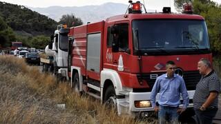 Υπό έλεγχο η φωτιά που εκδηλώθηκε το μεσημέρι της Τρίτης στον Βύρωνα