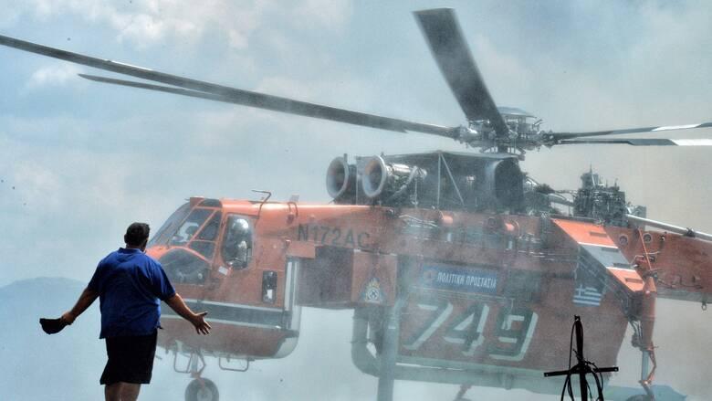 Πολιτική Προστασία: Προειδοποίηση για πολύ υψηλό κίνδυνο πυρκαγιάς την Τετάρτη
