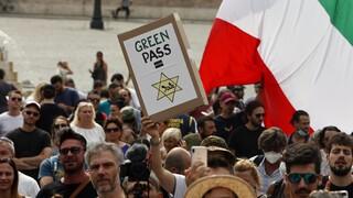 Κορωνοϊός – Ιταλία: Διχασμένη η πολιτική σκηνή για το green pass των εμβολιασμένων