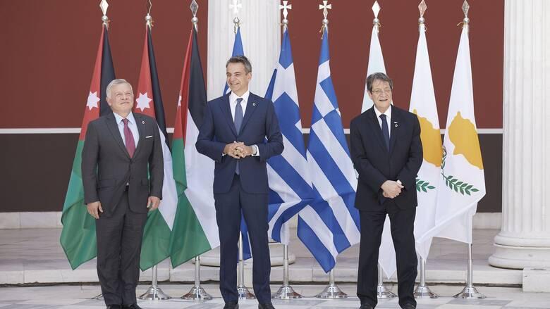 Μητσοτάκης: Ελλάδα, Κύπρος και Ιορδανία έχουν δημιουργήσει μια σταθερή εταιρική σχέση