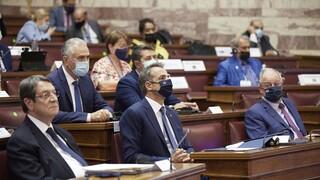 Μητσοτάκης- Αναστασιάδης: Η πατρίδα σας σάς χρειάζεται δίπλα της ως πρεσβευτές των αξιών της