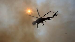 Φωτιά στο Ελληνικό: Επιχειρούν και εναέρια μέσα