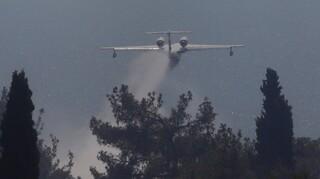 Μεγάλη φωτιά στη Δροσιά Αχαΐας: Εκκενώνεται οικισμός