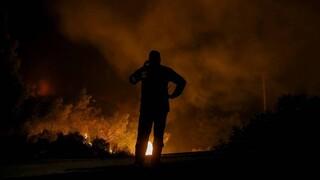 Φωτιές Αχαΐα - 112: Δύσκολη νύχτα για την Πυροσβεστική - Εκκενώθηκαν προληπτικά 10 οικισμοί