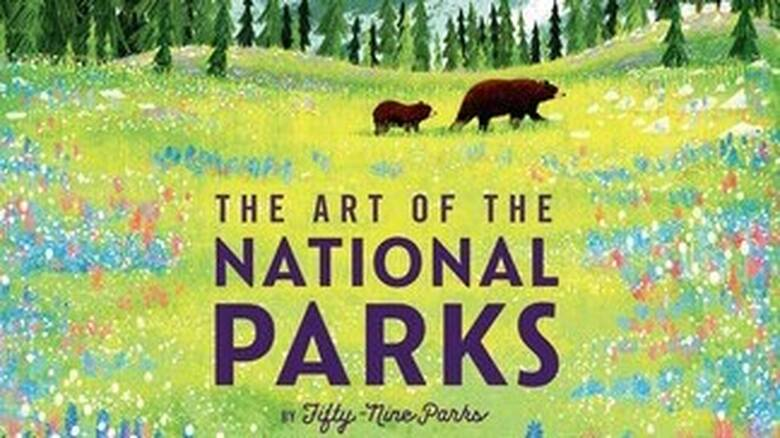 «The Art of the National Parks»: Αφίσες για τα Εθνικά Πάρκα των ΗΠΑ σε ένα εντυπωσιακό λεύκωμα