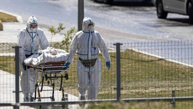 Ρωσία- Κορωνοϊός: Καταγράφηκαν 23.270 νέα κρούσματα και 799 θάνατοι