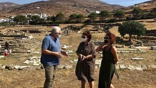 Τα σπουδαία μνημεία της Τήνου σε πορεία συντήρησης και ανάδειξης